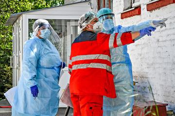 Coronavirus : l'Ukraine a dépisté 5 426 nouveaux cas en 24 heures