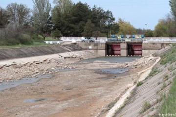 Los embalses se vuelven poco profundos en la Crimea ocupada, el agua desaparece