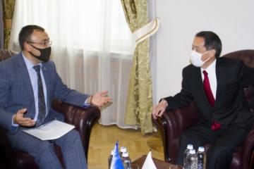 Die Ukraine und Japan erörtern gemeinsame Schritte zur atomwaffenfreien Welt