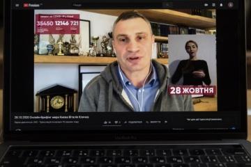 Klitschko wiederholt auf COVID-19 getestet - positiv