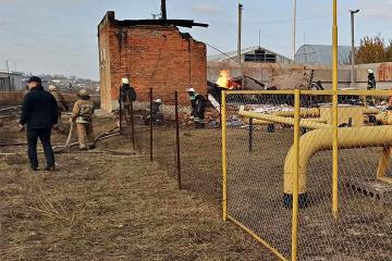 Two killed, nine injured in gas explosion near Kharkiv