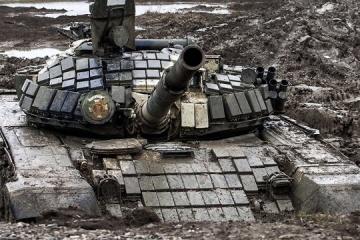 OSZE entdeckt im besetzten Donbass fast 200 Panzer und Selbstfahrlafetten außerhalb genehmigter Lagerstätten