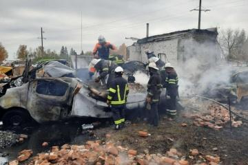 Dos muertos y nueve heridos en explosión de gas cerca de Járkiv