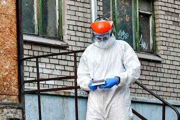 Ukraine reports 2,394 new coronavirus cases