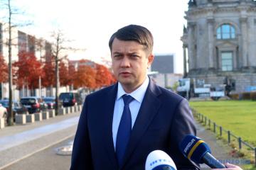 Ukrainian speaker tests positive for COVID-19