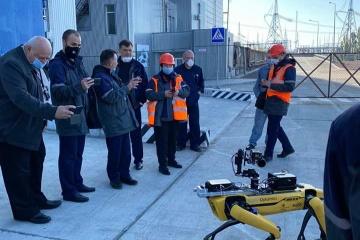 Un robodog de Boston Dynamics se balade à Tchornobyl