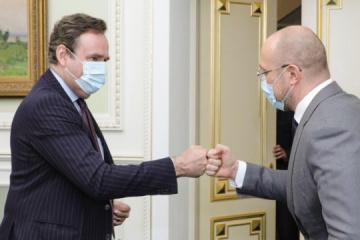 Shmygal: Ucrania interesada en ampliar la cooperación con el BEI en energía e infraestructura