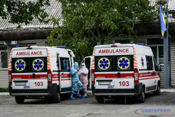 Ukraine reports 1,587 COVID-19 hospitalizations in past day