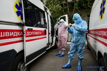 Na Ukrainie zarejestrowano 9832 nowe przypadki koronawirusa