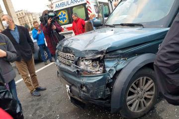 Kyiv : accident de la route mortel sur Krechtchatyk