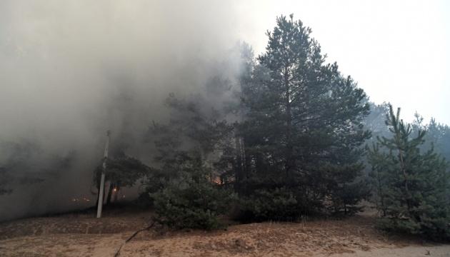 Відкритого вогню на Луганщині майже немає — голова ДСНС
