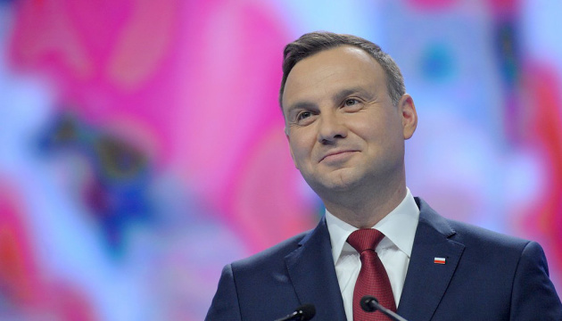 Duda arrives in Ukraine, calls his visit especially important