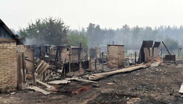Пожары в Луганской области могут вынести на обсуждение в ТКГ - Верещук