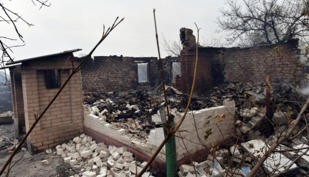 Постраждалим від пожеж на Луганщині виплатять по 300 тисяч за втрачене житло