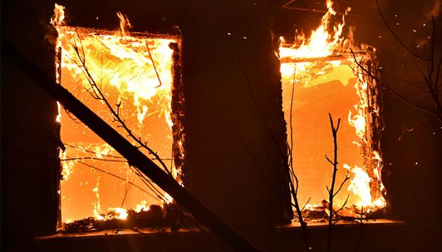 В Одесской области горит база отдыха