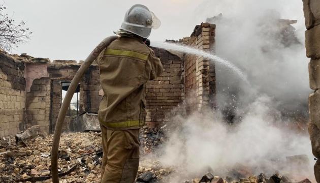 Пожежі на Луганщині: слідство розглядає чотири основні версії виникнення