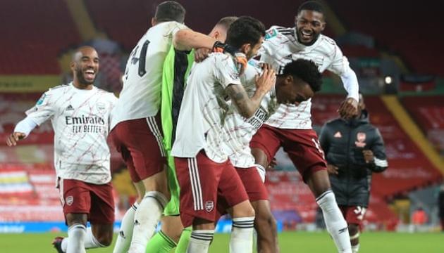 «Арсенал» победил «Ливерпуль» в Кубке английской лиги