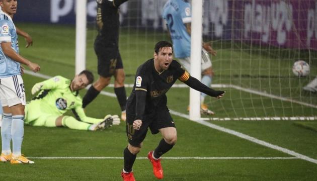 Ла Лига: «Барселона» в меньшинстве обыграла «Сельту»