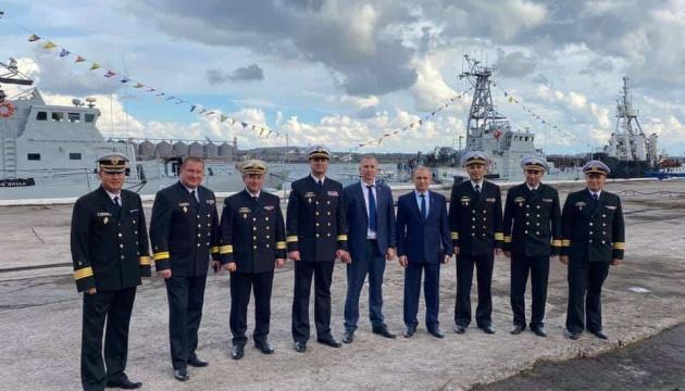У порту «Південний» відкрили пункт базування кораблів ВМС