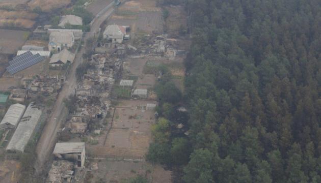 На Луганщині від вогню постраждали майже 19 тисяч гектарів лісу