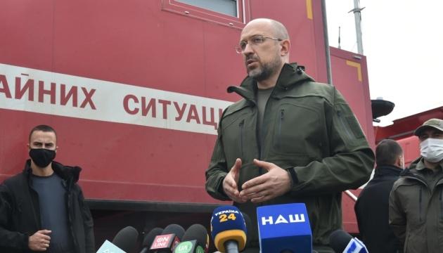 Пожежі на Луганщині: Шмигаль не виключає, що підтвердяться одразу кілька версій слідства