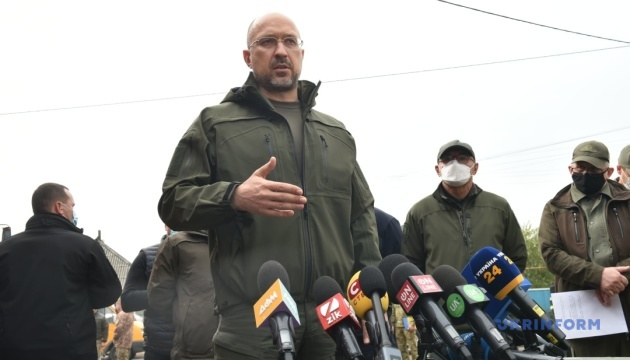 Лісові пожежі: Шмигаль дав низку доручень за підсумками поїздки на Луганщину