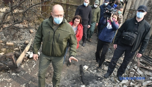 Victims of fires in Luhansk region to receive UAH 300,000 for destroyed houses