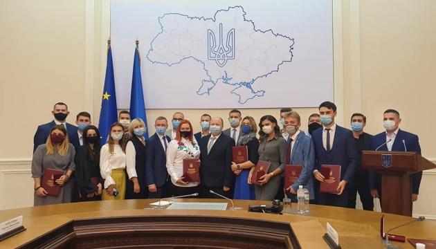 Немчінов вручив премії за особливі досягнення молоді у розбудові України