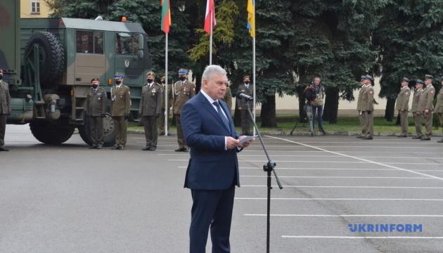 Таран пропонує залучити ЛитПолУкрбриг до миротворчої операції в Косово