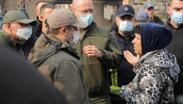 Пожежі не пошкодили критичну інфраструктуру на Луганщині - Шмигаль