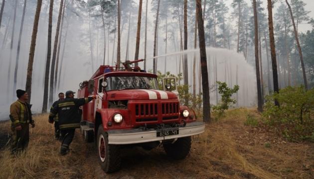 На Луганщині локалізували один із осередків лісової пожежі