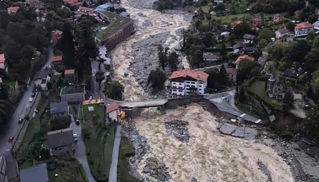 Шторм «Алекс» наробив лиха в Італії: є загиблі та зниклі безвісти