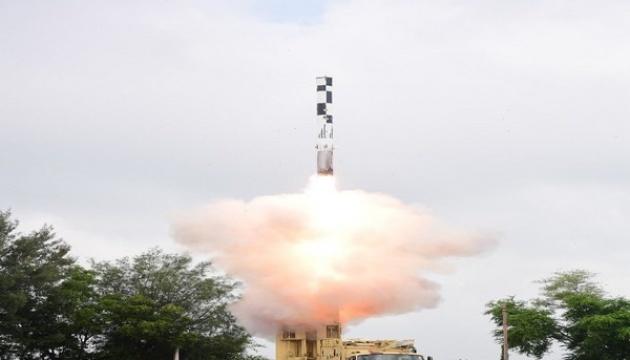 Індія випробувала надзвукову балістичну ракету