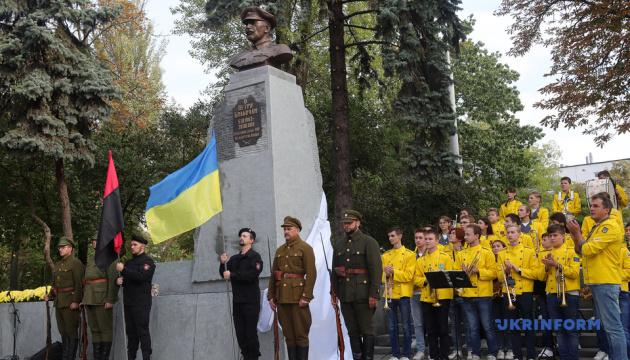 В Киеве открыли памятник полковнику армии УНР