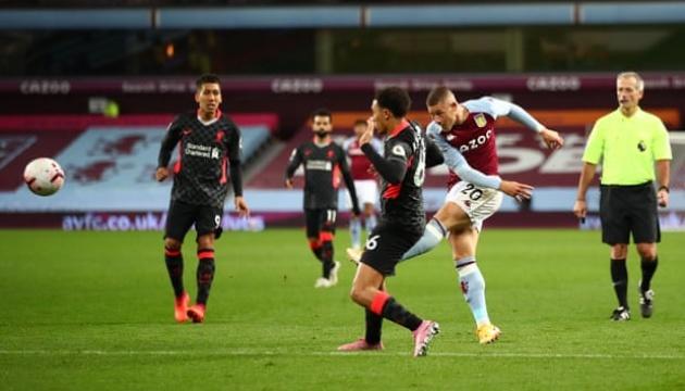 АПЛ: «Ліверпуль» вщент програв «Астон Віллі»