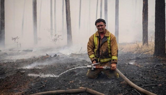 Пожежі на Луганщині: ліквідували сім осередків із дев'яти, один – локалізували