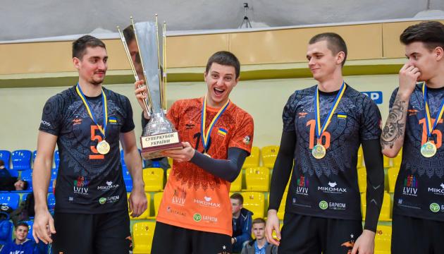 Матчі Суперкубка України з волейболу пройдуть 24 жовтня