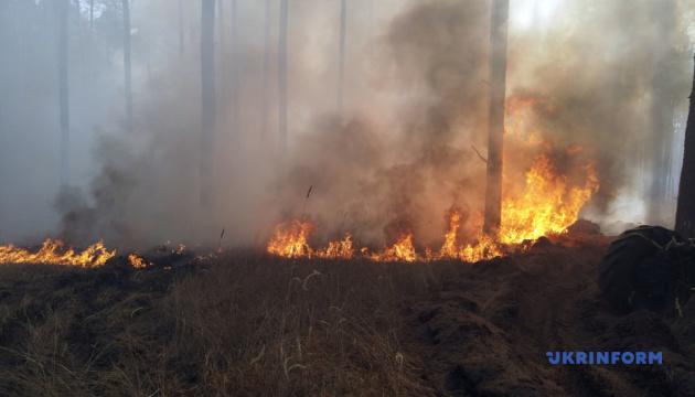 «Слуги народа» хотят создать ВСК в Раде для расследования пожаров в Луганской области