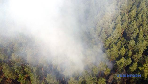 Ветерани АТО/ООС допомагають постраждалим від пожеж на Луганщині