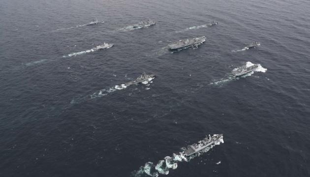 Нідерланди, США і Британія сформували найбільшу в Європі ударну авіаносну групу