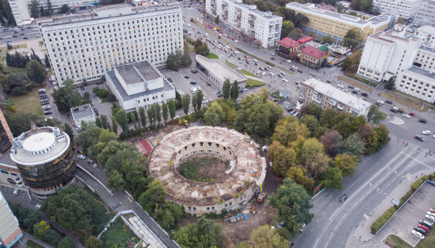 Наводницьку башту «Київської фортеці» завершать укріплювати у грудні