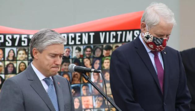 На митингах в крупнейших городах Канады требовали расследовать катастрофу самолета МАУ