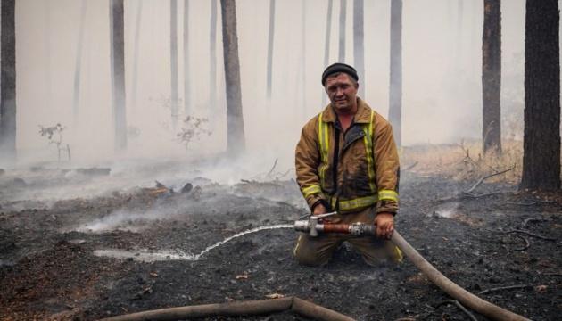 На Луганщині ліквідували 8 із 10 основних осередків лісових пожеж