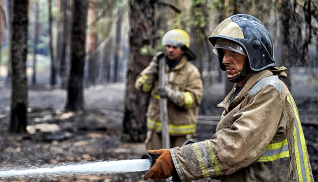 В Луганской области ликвидировали все очаги пожаров