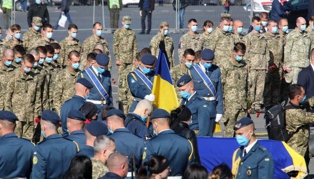 У Харкові вшанувати пам'ять загиблих в авіатрощі прийшли близько трьох тисяч осіб