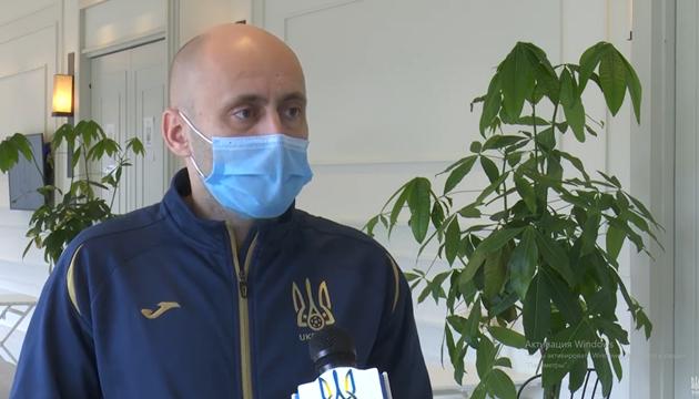 Лікар збірної України: готуємося до гри з футболістами Франції у штатному режимі