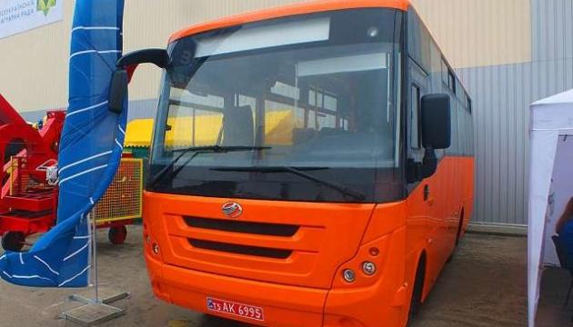 ЗАЗ презентував приміський автобус
