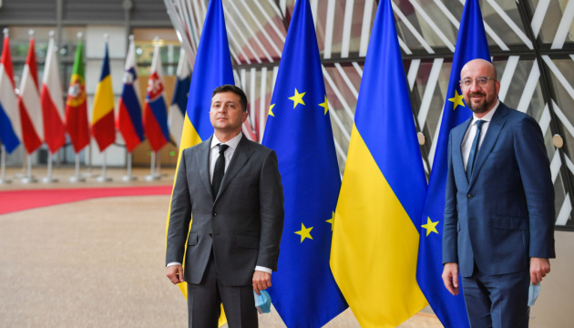 Zelensky says Ukraine confidently moving towards EU membership