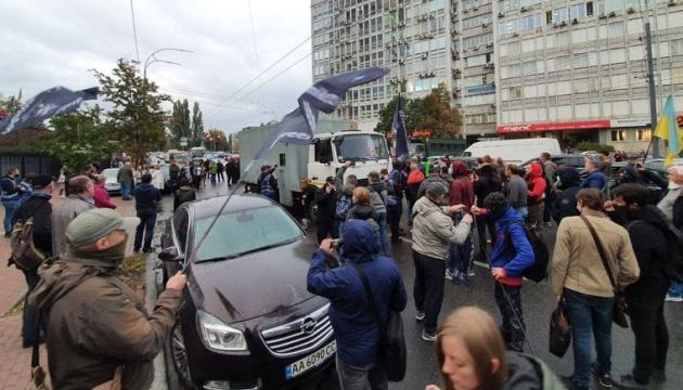 Справа Шеремета: біля суду сталася штовханина між активістами та поліцією