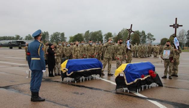 На Вінниччині поховають двох курсантів, які загинули в катастрофі Ан-26